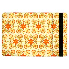 Background Floral Forms Flower Ipad Air Flip