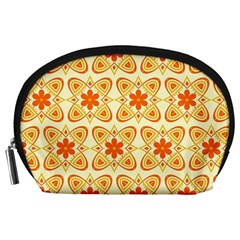 Background Floral Forms Flower Accessory Pouches (large)