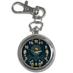 Ying Yang Abstract Asia Asian Background Key Chain Watches
