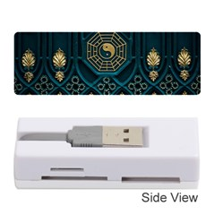 Ying Yang Abstract Asia Asian Background Memory Card Reader (stick)