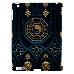 Ying Yang Abstract Asia Asian Background Apple Ipad 3/4 Hardshell Case (compatible With Smart Cover)