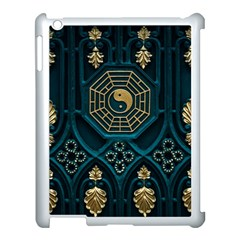 Ying Yang Abstract Asia Asian Background Apple Ipad 3/4 Case (white)