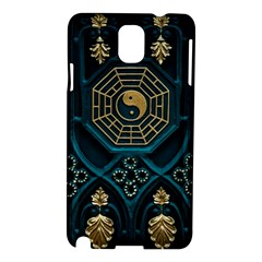 Ying Yang Abstract Asia Asian Background Samsung Galaxy Note 3 N9005 Hardshell Case