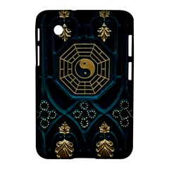Ying Yang Abstract Asia Asian Background Samsung Galaxy Tab 2 (7 ) P3100 Hardshell Case