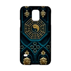 Ying Yang Abstract Asia Asian Background Samsung Galaxy S5 Hardshell Case