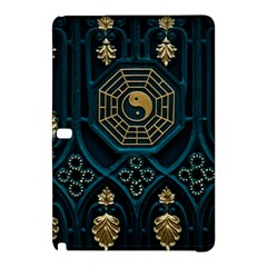 Ying Yang Abstract Asia Asian Background Samsung Galaxy Tab Pro 12 2 Hardshell Case