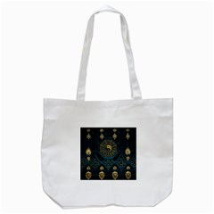 Ying Yang Abstract Asia Asian Background Tote Bag (white)