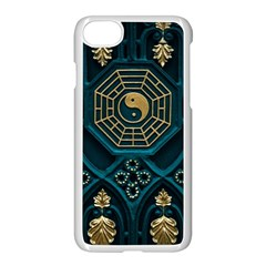 Ying Yang Abstract Asia Asian Background Apple Iphone 8 Seamless Case (white) by Nexatart