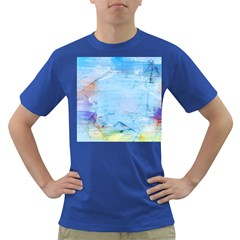 Background Art Abstract Watercolor Dark T Shirt
