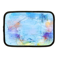 Background Art Abstract Watercolor Netbook Case (medium)