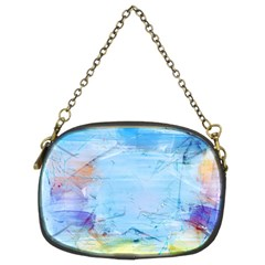 Background Art Abstract Watercolor Chain Purses (two Sides)