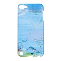 Background Art Abstract Watercolor Apple Ipod Touch 5 Hardshell Case by Nexatart