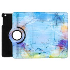 Background Art Abstract Watercolor Apple Ipad Mini Flip 360 Case