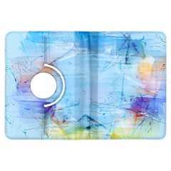 Background Art Abstract Watercolor Kindle Fire Hdx Flip 360 Case by Nexatart