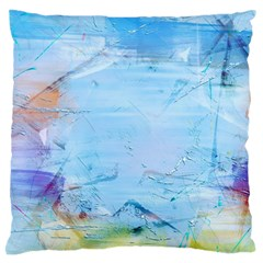 Background Art Abstract Watercolor Standard Flano Cushion Case (one Side) by Nexatart