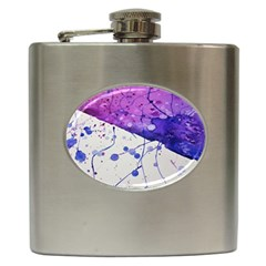 Art Painting Abstract Spots Hip Flask (6 Oz)