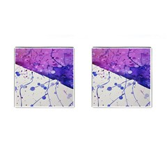 Art Painting Abstract Spots Cufflinks (square)