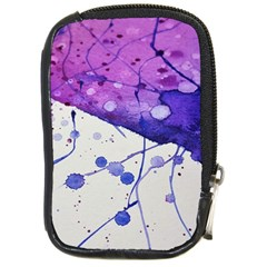 Art Painting Abstract Spots Compact Camera Cases by Nexatart