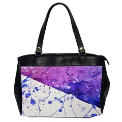Art Painting Abstract Spots Office Handbags (2 Sides)
