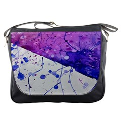 Art Painting Abstract Spots Messenger Bags