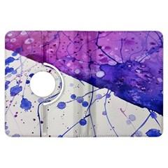 Art Painting Abstract Spots Kindle Fire Hdx Flip 360 Case