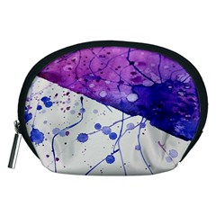 Art Painting Abstract Spots Accessory Pouches (medium)