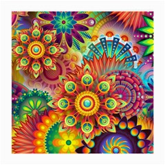 Colorful Abstract Background Colorful Medium Glasses Cloth by Nexatart