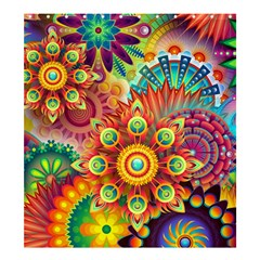 Colorful Abstract Background Colorful Shower Curtain 66  X 72  (large)