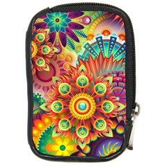 Colorful Abstract Background Colorful Compact Camera Cases