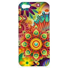 Colorful Abstract Background Colorful Apple Iphone 5 Hardshell Case