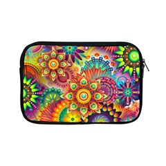 Colorful Abstract Background Colorful Apple Ipad Mini Zipper Cases