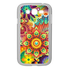 Colorful Abstract Background Colorful Samsung Galaxy Grand Duos I9082 Case (white)