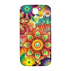 Colorful Abstract Background Colorful Samsung Galaxy S4 I9500/i9505  Hardshell Back Case