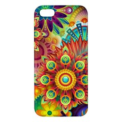 Colorful Abstract Background Colorful Iphone 5s/ Se Premium Hardshell Case