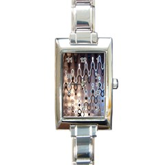 Wallpaper Steel Industry Rectangle Italian Charm Watch