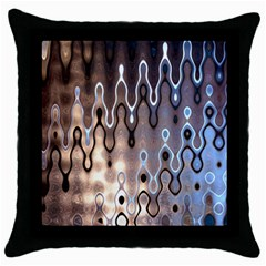 Wallpaper Steel Industry Throw Pillow Case (black)