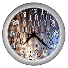 Wallpaper Steel Industry Wall Clocks (silver)