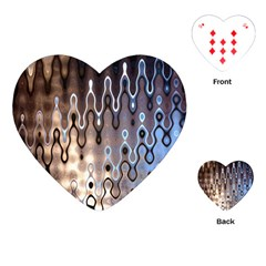 Wallpaper Steel Industry Playing Cards (heart)