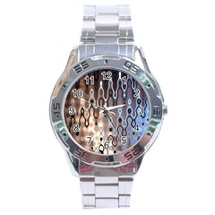 Wallpaper Steel Industry Stainless Steel Analogue Watch