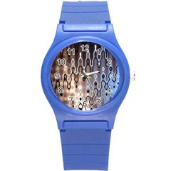 Wallpaper Steel Industry Round Plastic Sport Watch (s)