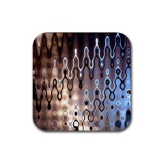 Wallpaper Steel Industry Rubber Coaster (square)