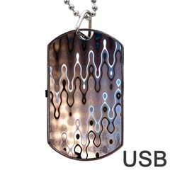 Wallpaper Steel Industry Dog Tag Usb Flash (one Side)