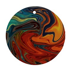 Creativity Abstract Art Ornament (round)