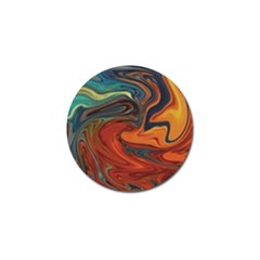 Creativity Abstract Art Golf Ball Marker (4 Pack)