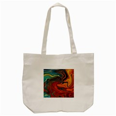 Creativity Abstract Art Tote Bag (cream)