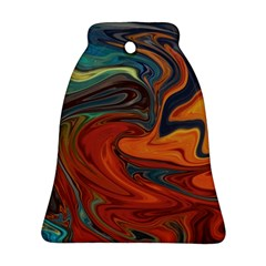 Creativity Abstract Art Bell Ornament (two Sides)