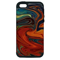 Creativity Abstract Art Apple Iphone 5 Hardshell Case (pc+silicone)