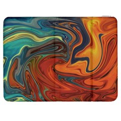 Creativity Abstract Art Samsung Galaxy Tab 7  P1000 Flip Case