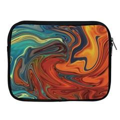 Creativity Abstract Art Apple Ipad 2/3/4 Zipper Cases