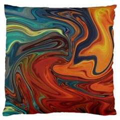 Creativity Abstract Art Large Flano Cushion Case (two Sides)